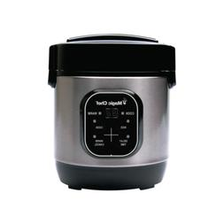 rice cooker 3 cup stainless steel w