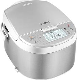 PHILIPS RICE COOKER  4.2 Quarts-Color Silver-CONDITION BRAND