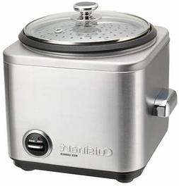 Rice Cooker 4 Cup Stainless Steel Steaming Basket Non Stick
