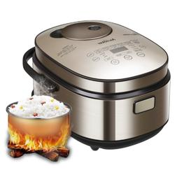 Aicooker Rice Cooker 4L/8 cups Induction Heating Rice Cooker