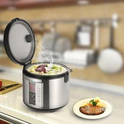 Homgeek Rice Cooker 5L High-End Professional 20 Cup Cooked U