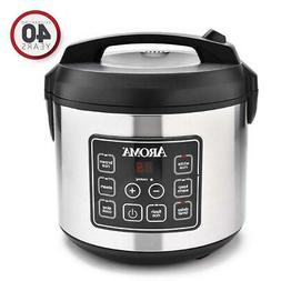 Aroma Rice Cooker and Food Steamer 20-Cup  Digital  ARC-150S
