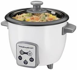 Hamilton Beach Rice Cooker & Steamer, Digital w/Steam Basket