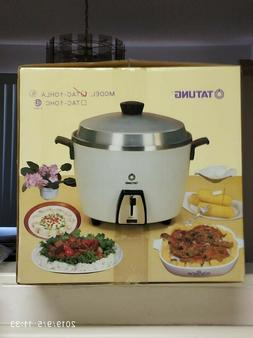 "Tatung Rice Cooker and SteamerTAC10HLA 10-Cups  in rear ""Al"