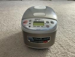 rice cooker and warmer ns lac05 white