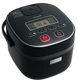 Sharp rice cooker 0.54L type black-based KS-C5H-B