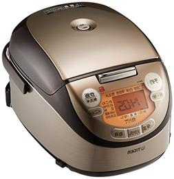 Tiger rice cooker - 3 people pot IH Brown cooked mini rice c