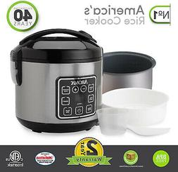Aroma Housewares Rice Cooker Digital Cool-Touch ARC-914SBD 2