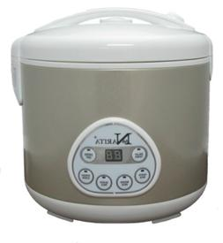 Narita 6-cup Digital Rice Cooker with Steamer, NRC-600D