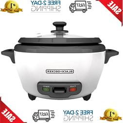 Rice Cooker Food Steamer Basket 6 Cup Cooked Uncooked Nonsti