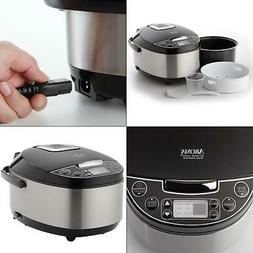 Rice Cooker And Food Steamer Meats Vegetables Steam Tray Slo