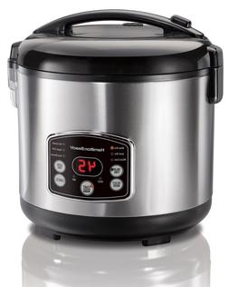 Hamilton Beach Rice Cooker Hot Cereal Electric Pressure Stea