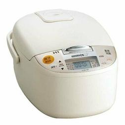 Zojirushi rice cooker IH-type 5.5 Go light beige NP-XA10-CL