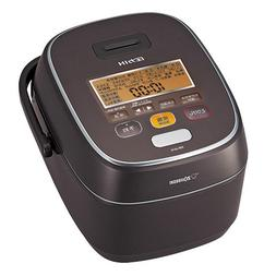 Zojirushi rice cooker pressure IH type Iron coat platinum At