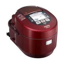 HITACHI Rice Cooker Steam pressure IH type Metallic Red RZ-W