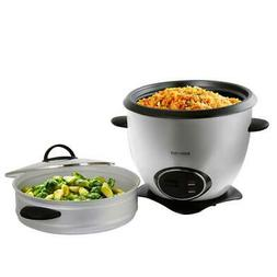 Rice Cooker Steamer Basket 10 Cup Stainless Steel Stay Cool
