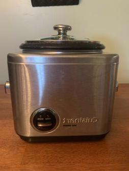 Cuisinart Rice Cooker/Steamer CRC-400 4 Cup Capacity Tested