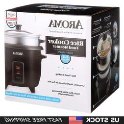 Aroma Rice Cooker, Steamer, Multi-cooker   2-6 cups Cooked