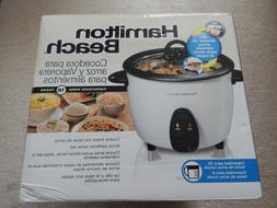 HAMILTON BEACH RICE COOKER STEAMER NEW IN BOX 16 CUPS