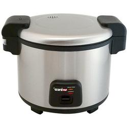 Rice Cooker/Warmer, Electric, 30 Cups, 120V RC-S300