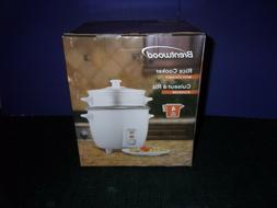 Brentwood Rice Cooker with Steamer - NEW in Box