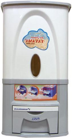Tayama 25kg  Rice Dispenser - Perfect for storing rice, grai