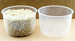 2 pack Rice Measuring Cup Clear Bright Kitchen Brand Cooker