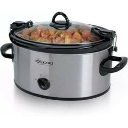 Crock Pot SCCPVL600-S 6 Qt Cook & Carry Slow Cooker