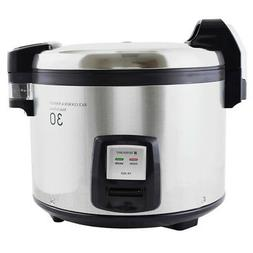 Thunder Group SEJ3201 30 Cup Electric Rice Cooker-Warmer w/
