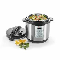 Fagor Select 8-Quart 8-in-1 Electric Pressure Cooker Rice Co