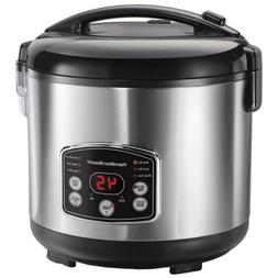Hamilton Beach Digital Simplicity Rice Cooker And Steamer, 4