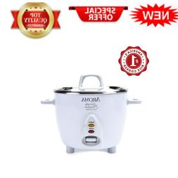 Simply Stainless Rice Cooker White Cooks 3 cups of uncooked