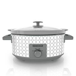 Slow Cooker 7Quart Large Crock Pot Oval  Food Soup Cooking w