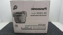 Panasonic SR-2363Z, 20 Cup Rice Cooker / Warmer  New In The