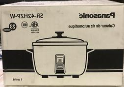 Panasonic SR-42HZP 23-cup  Commercial Rice Cooker...........
