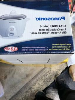 Panasonic SR-G06G 3.3 Cup Rice Cooker/Steamer