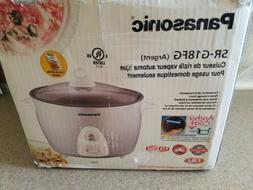 Panasonic SR-G18FG Automatic 10 Cup  Rice Cooker New W/ Manu