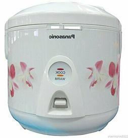 Panasonic SR-TEJ10 220v 5-Cup Delux Rice Cooker 220 230 Volt