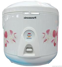 Panasonic SR-TEJ10 5-Cup Electric Rice Cooker, 220 Volts