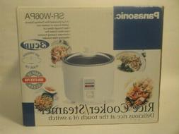 Panasonic SR-W06PA 3 Cup Automatic Rice Cooker with Steamer,