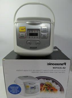Panasonic SR-ZC075W 4-Cups  Rice Cooker & Multi-Cooker, Whit