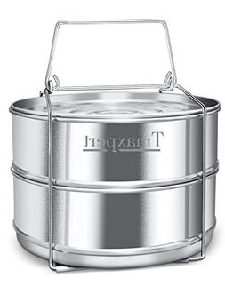 Anglo Kitchen Stackable Stainless Steel Pressure Cooker Stea