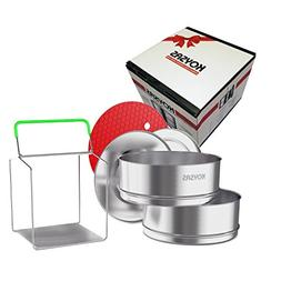 Stackable Steamer Insert Pans for Instant Pot - Safety Handl