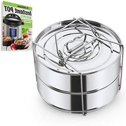 Stackable Steamer Insert Pans with Sling - Instant Pot Acces
