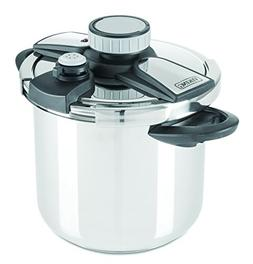 Viking Stainless Steel Pressure Cooker with Easy Lock Lid, 8