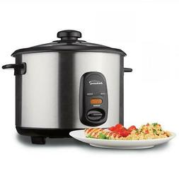 8-Cup Stainless Steel Rice Cooker