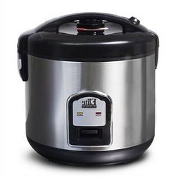 CuiZen 10-Cup Stainless Steel Rice Cooker