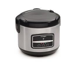 Presto Digital Stainless Steel Rice Cooker/Steamer