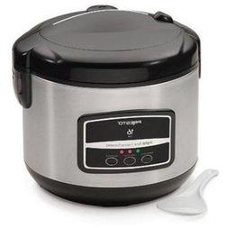 Presto 16-Cup Digital Stainless Steel Rice Cooker/Steamer -