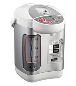 Stainless, White Thermo Water Boiler Warmer Stainless Steel